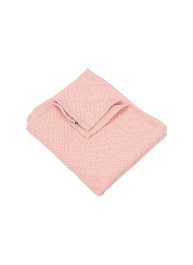 Cigit Cıgıt Hasır Desen Bebek  Battaniye Renkli